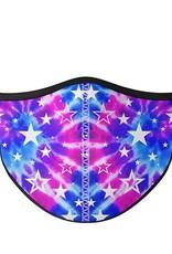Top Trenz Fashion Face Mask, Small, Galaxy Tie Dye
