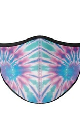 Top Trenz Fashion Face Mask, Small, Ice Tie Dye