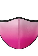 Top Trenz Fashion Face Mask, Small, Pink Ombre