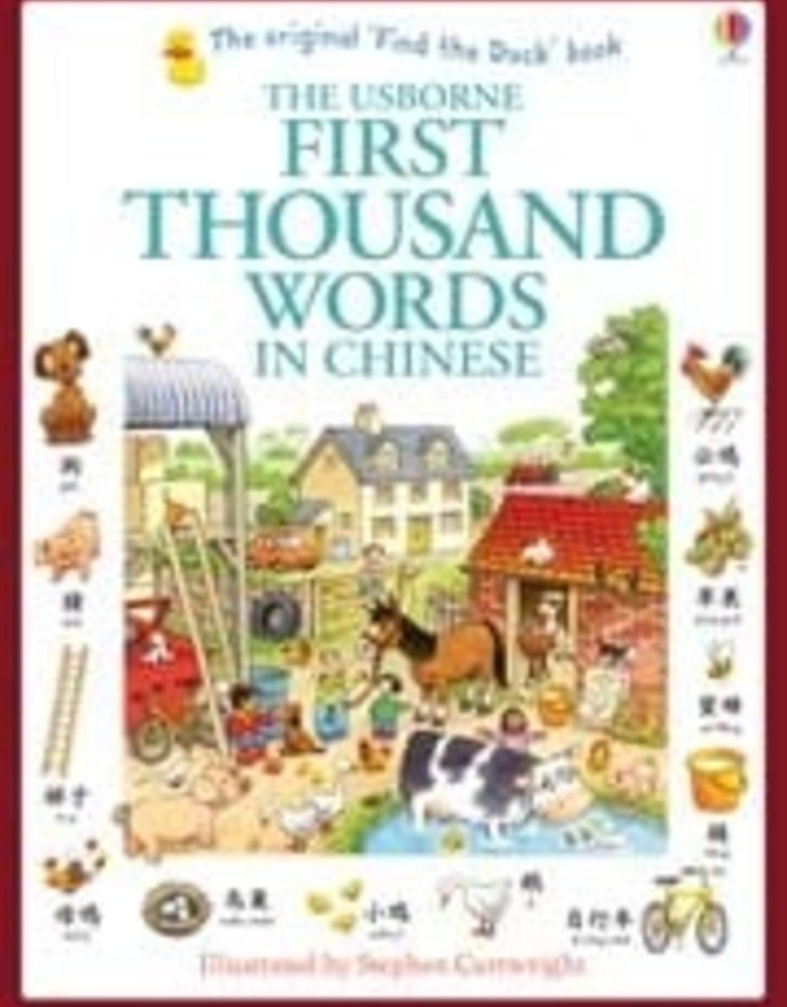 Usborne 1st 1000 Words Chinese