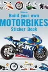 Usborne Build Your Own Motorcycle Sticker Book