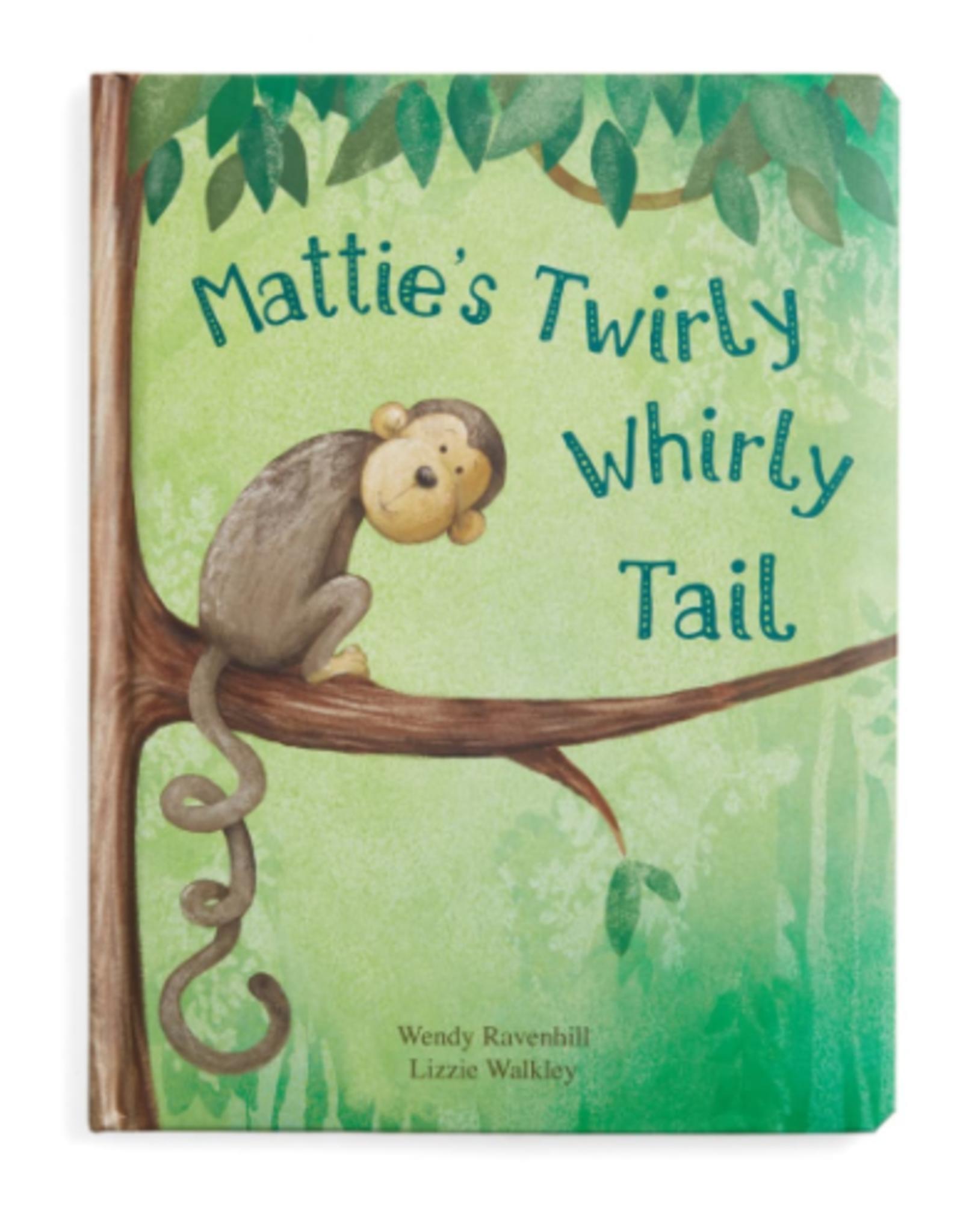 Jellycat Mattie's Twirly Whirly Tail