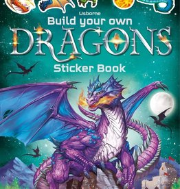 Usborne Build Your Own Dragon Sticker Book