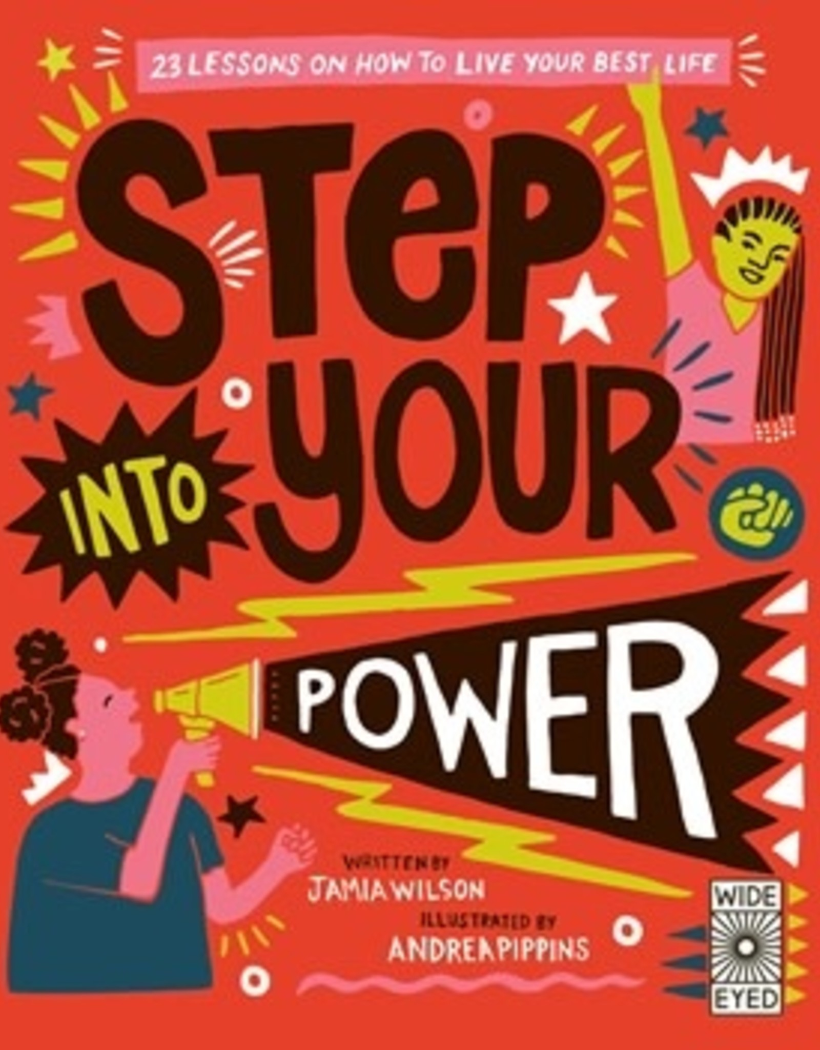 Quarto Wide Eyed Step into your Power