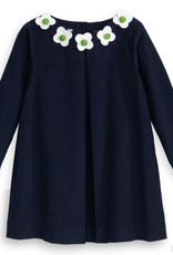 Bella Bliss Floral Everly Dress, navy cord