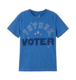 Peek George  Future Voter Tee, Blue