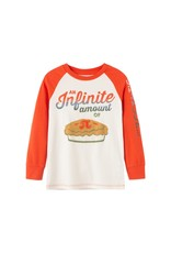Peek Colton Infinite Amount Pi Tee, Off White