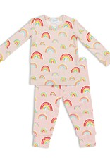 Angel Dear Rainbows Lounge Wear Set Pink