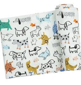 Angel Dear Swaddle Blanket Cool Pups