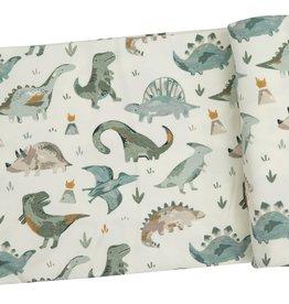 Angel Dear Swaddle Blanket Crayon Dinosaur