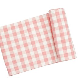 Angel Dear Swaddle Blanket Gingham Pink