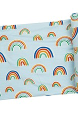Angel Dear Swaddle Blanket Rainbow, Blue Multi