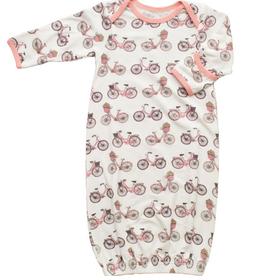Bestaroo Floral Bicycle Gown
