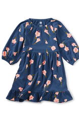Tea Ruffle Hem Dress, Flora de Inca