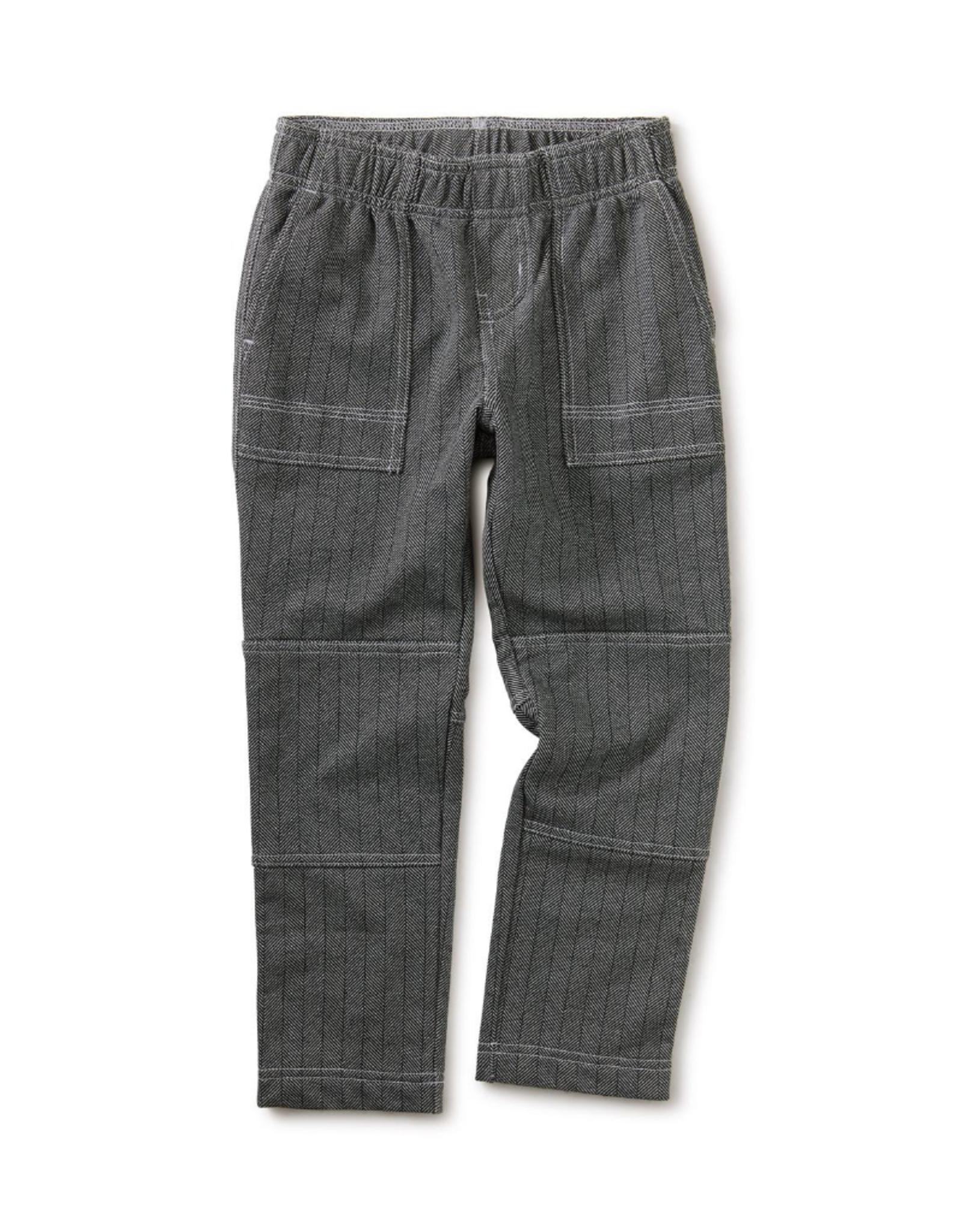 Tea Printed Printed Playwear Pants, Grey Zone