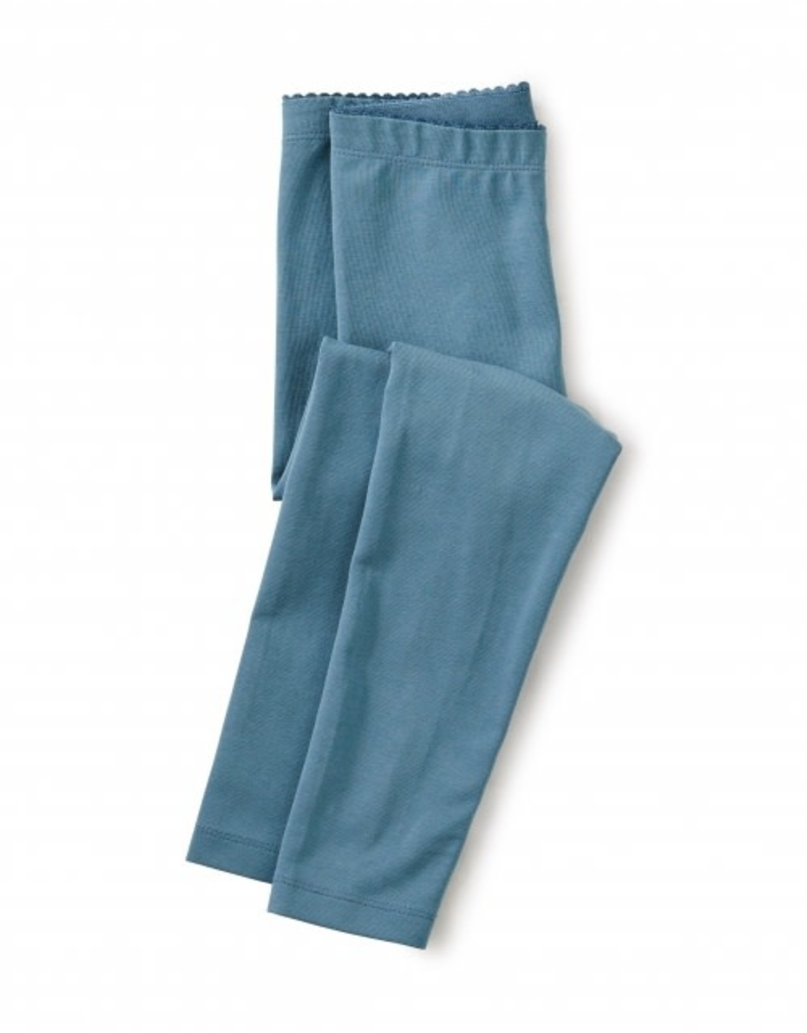 Tea Solid Baby Leggings, Aegean Blue