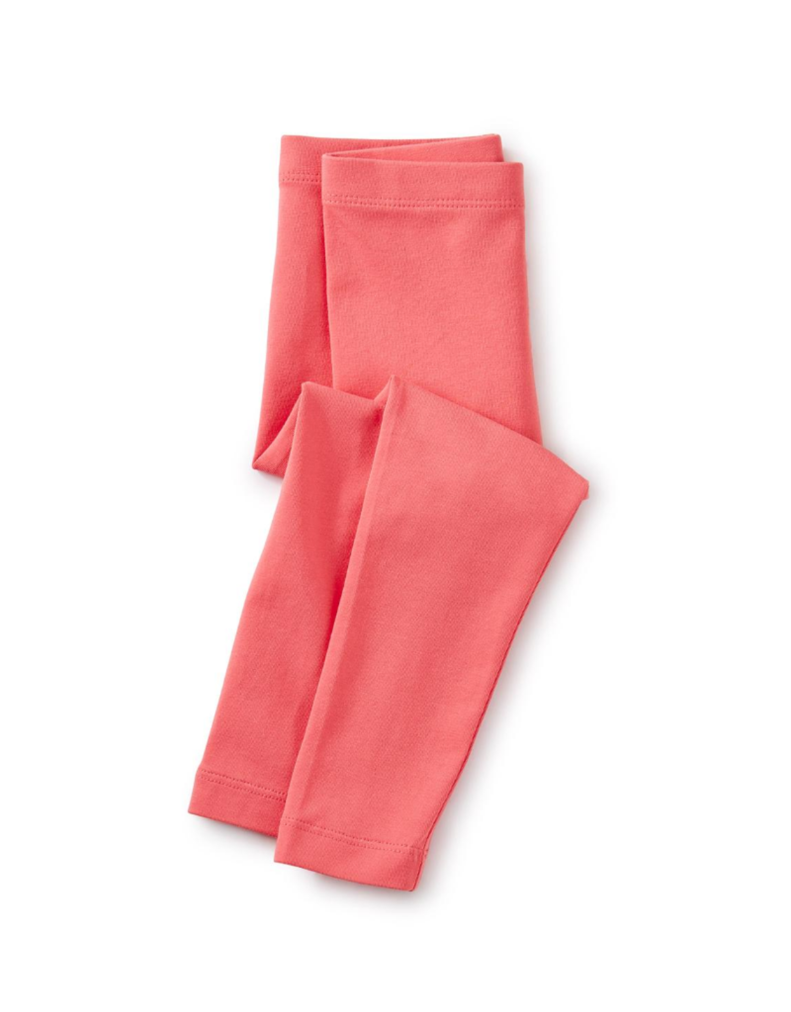 Tea Solid Baby Leggings, Flat Neon Rosa
