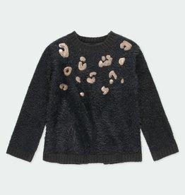 Boboli Sweater, Black & Copper