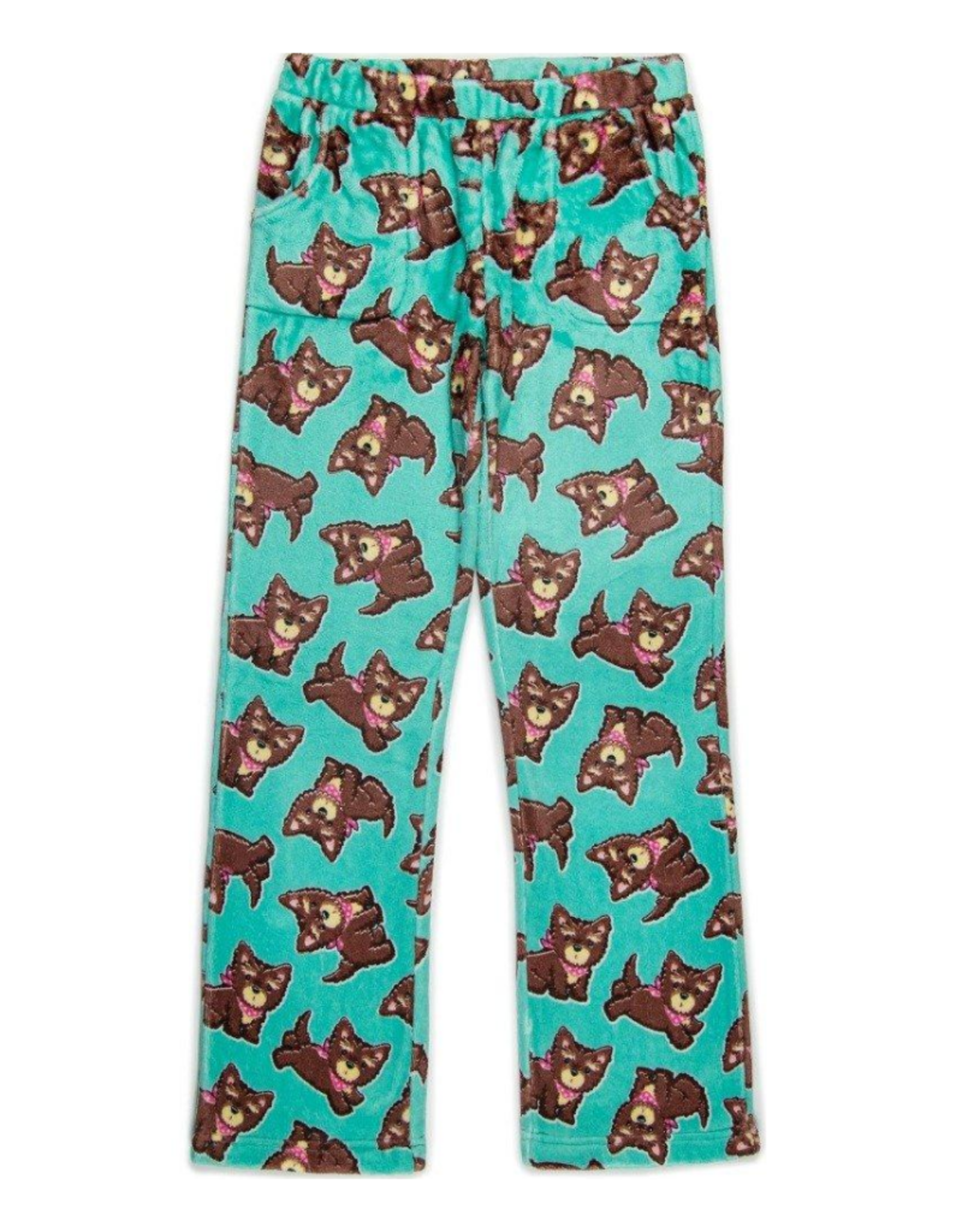 Candy Pink Bandana Dog Pants