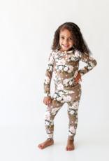 Posh Peanut Leona Long Sleeve Henley Loungewear