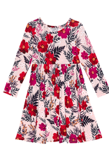 Posh Peanut Chloe Long Sleeve Twirl Dress