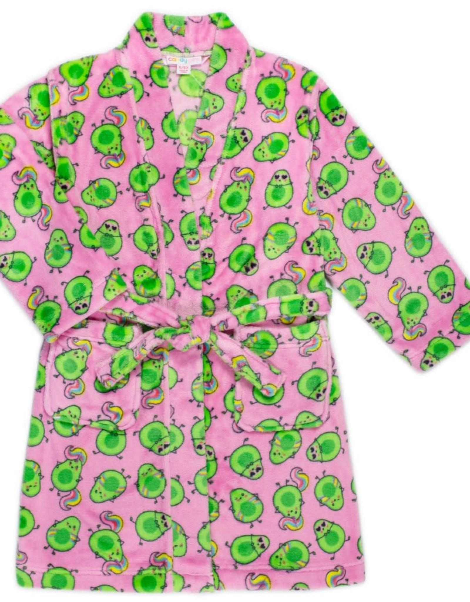 Candy Pink Avocado Robe