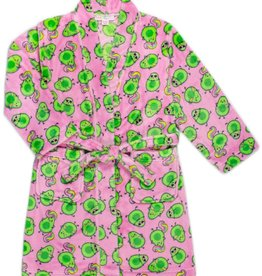 Candy Pink Avocado Robe