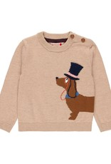 Boboli Sweater, Dog with Top Hat