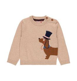 Boboli Sweater, Dog with Top Hat