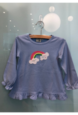 Luigi Long Sleeve Swing Top with Rainbow