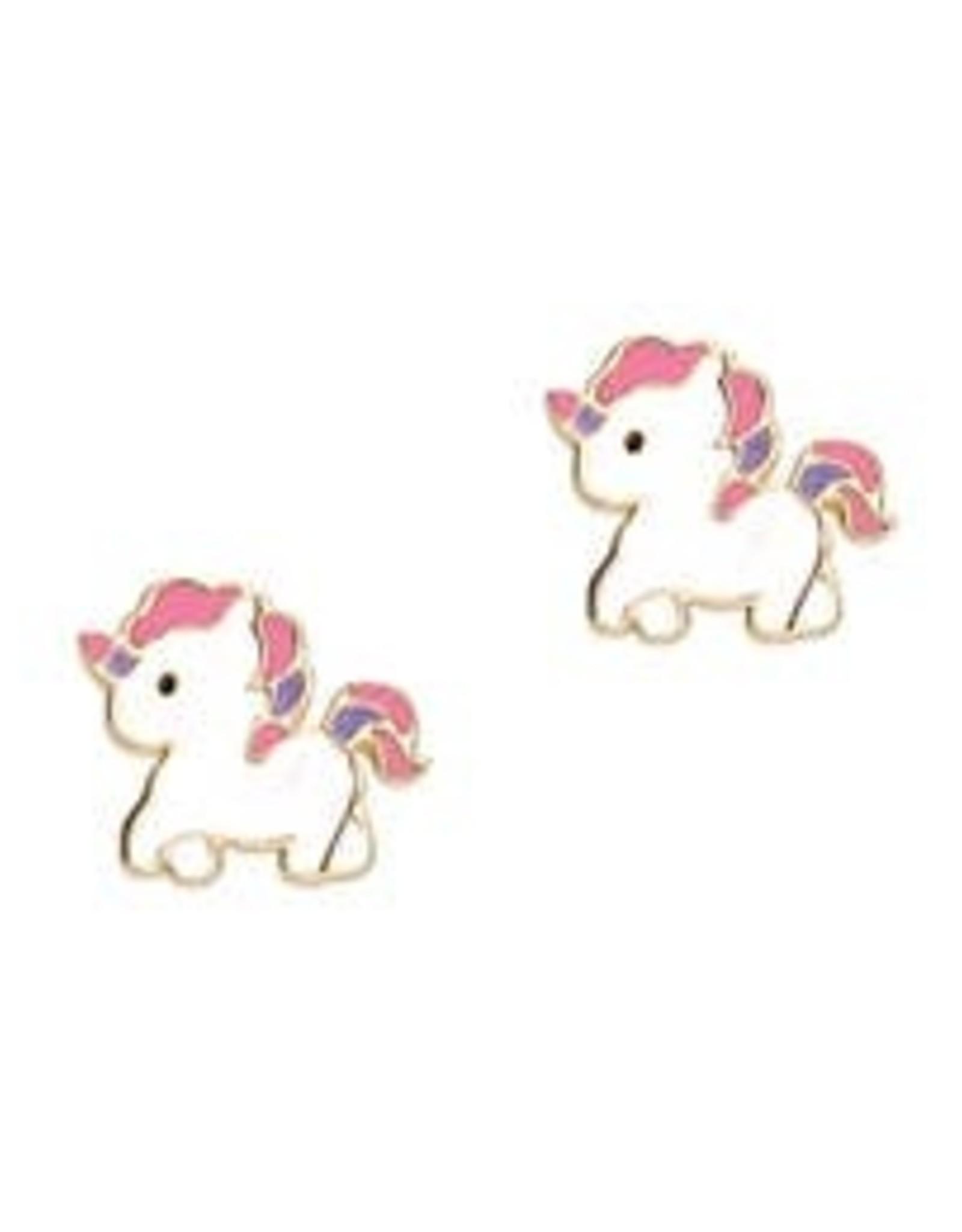 Girl Nation Magical Unicorn Stud Earrings