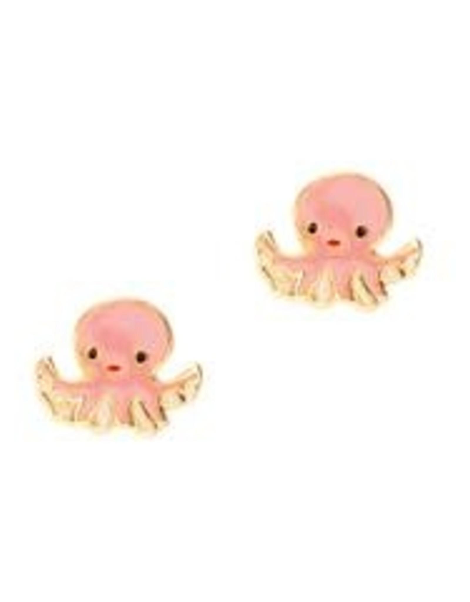 Girl Nation Girl Nation Obedient Octopus  Stud Earrings