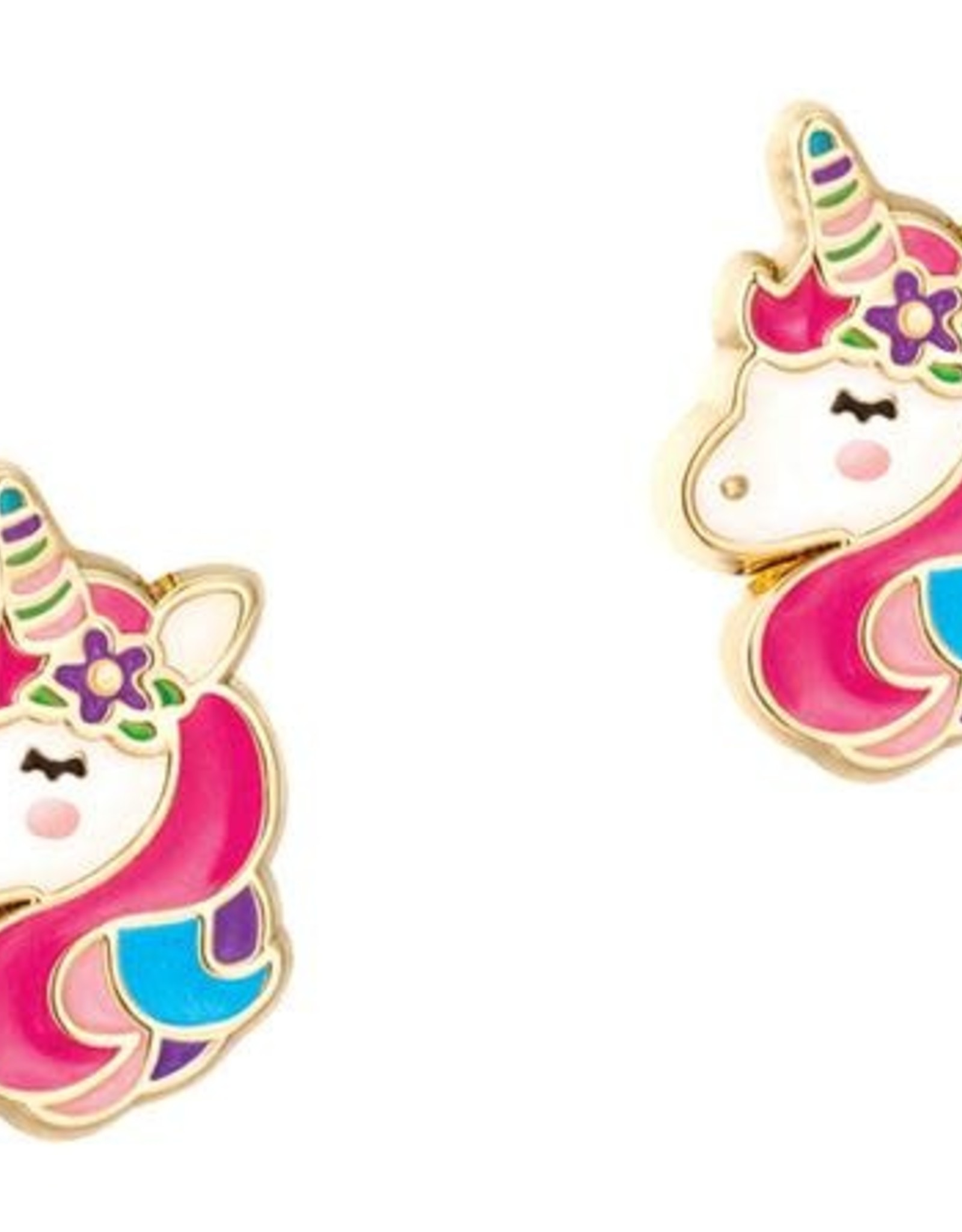 Girl Nation Girl Nation Unicorn Dreams Stud Earrings