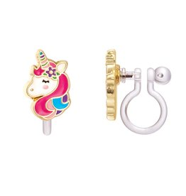 Girl Nation Girl Nation Clip-On Unicorn Dreams Earrings
