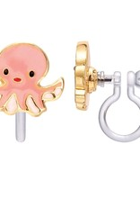 Girl Nation Girl Nation Obedient Octopus Clip-On Earrings