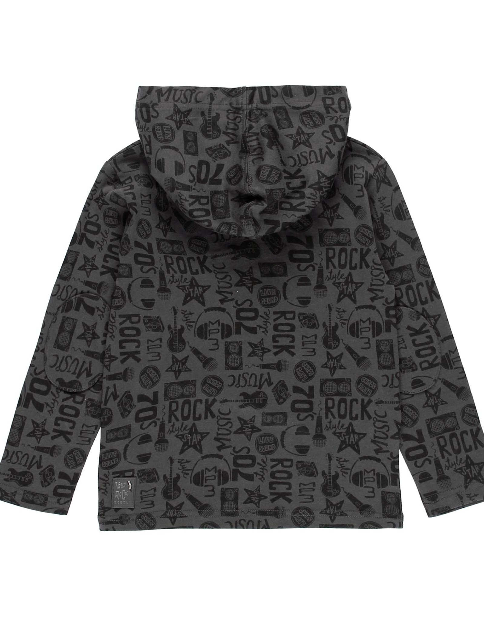 Boboli Shirt w/ Hood - Let's Rock!