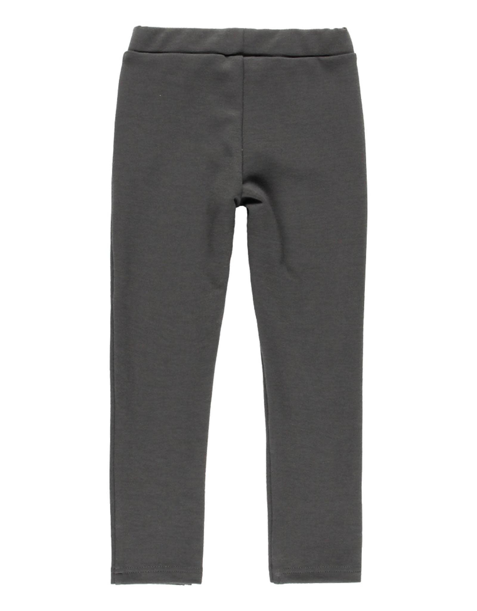 Boboli Pants w/ Zippers - Dark Grey
