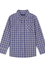 Andy & Evan Andy & Evan Button Down Shirt, Blue Plaid