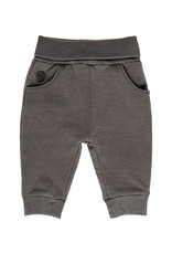 Boboli Fleece Denim Pants - Grey