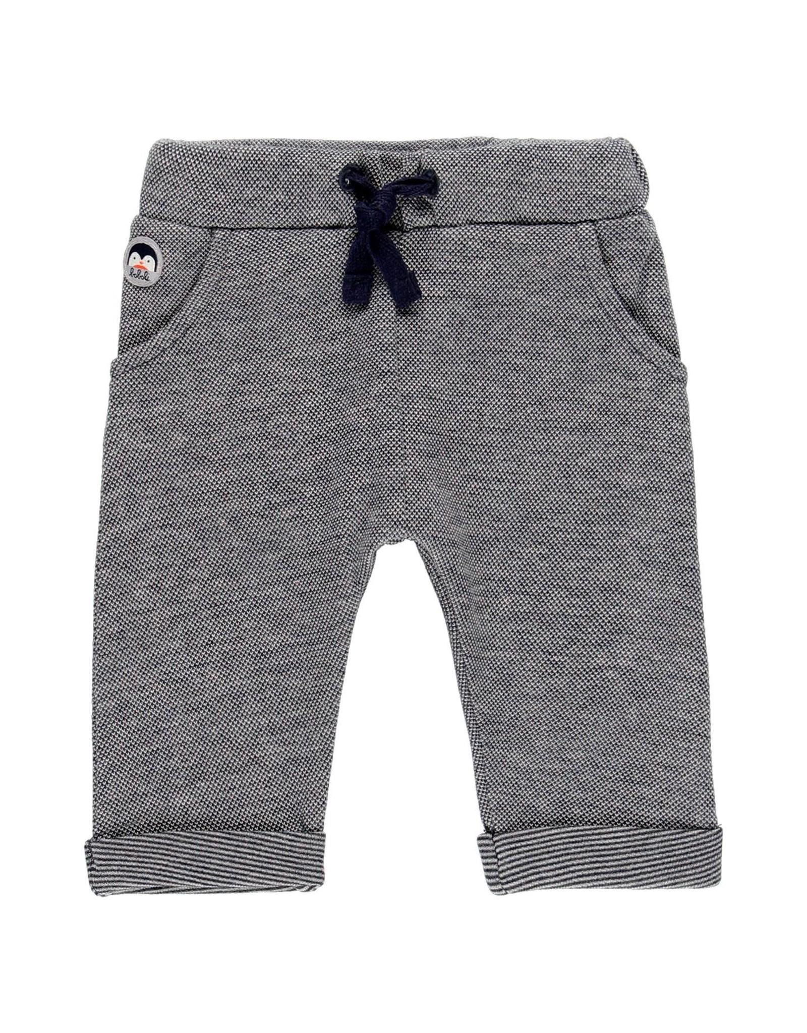 Boboli Knit Pants - Navy pattern