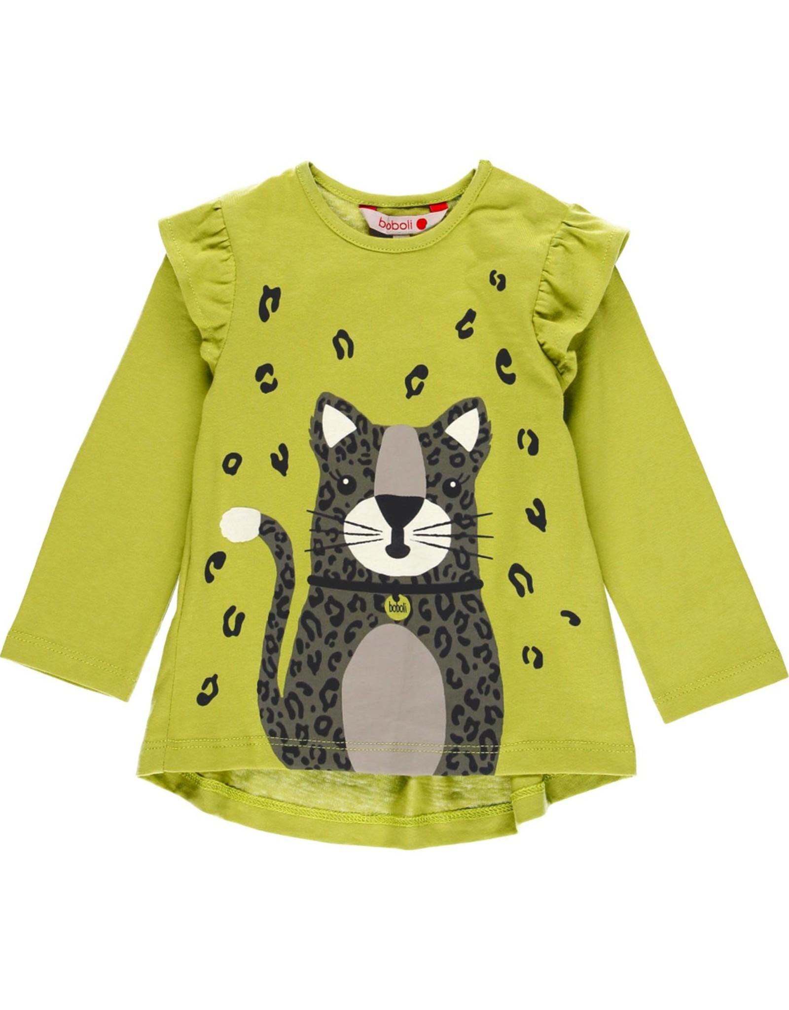 Boboli LS T-Shirt - Cat