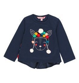 Boboli Shirt-Llama wearing a hat