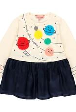 Boboli LS Dress - Planets