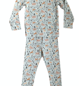 Bird & Bean Forest Friends Pajamas