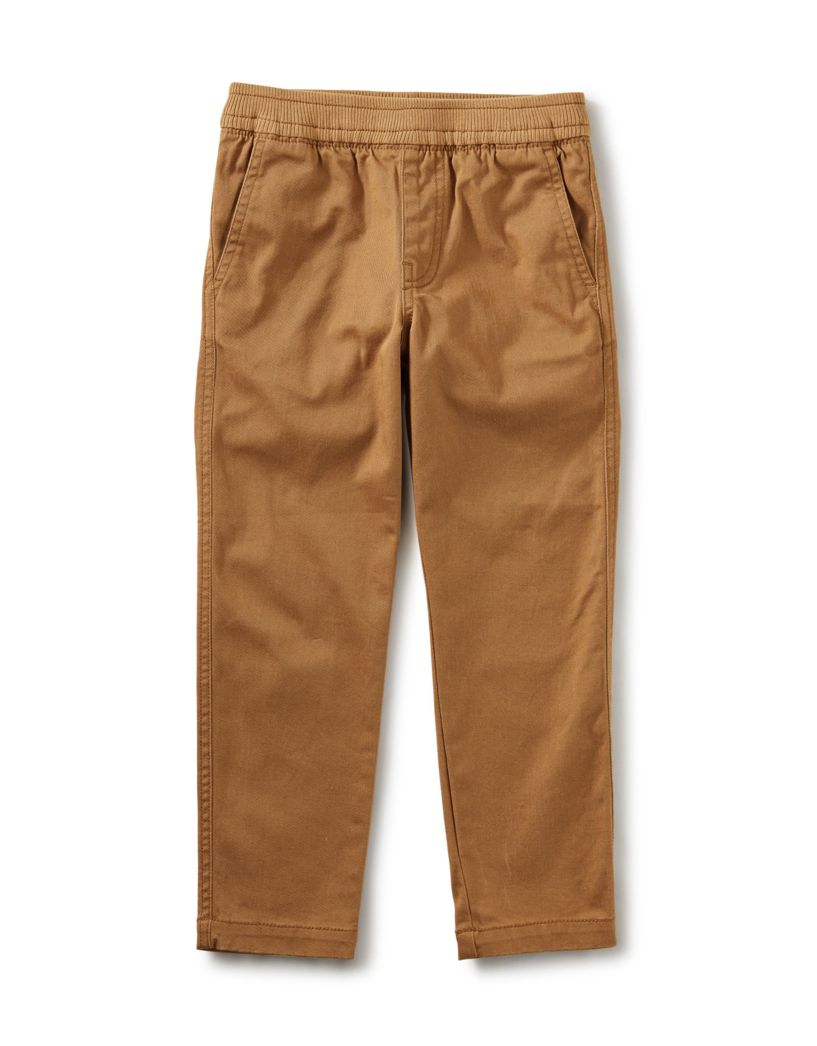 Tea Timeless Stretch Twill Pants, Whole Wheat