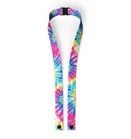Top Trenz Primary Tie Dye  Lanyard