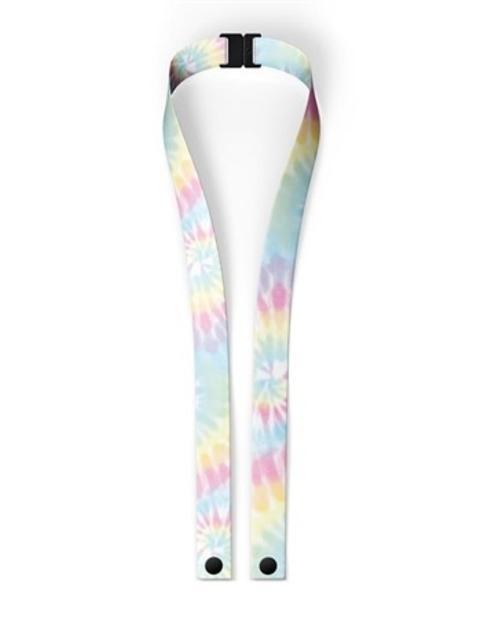 Top Trenz Pastel Tie Dye  Lanyard