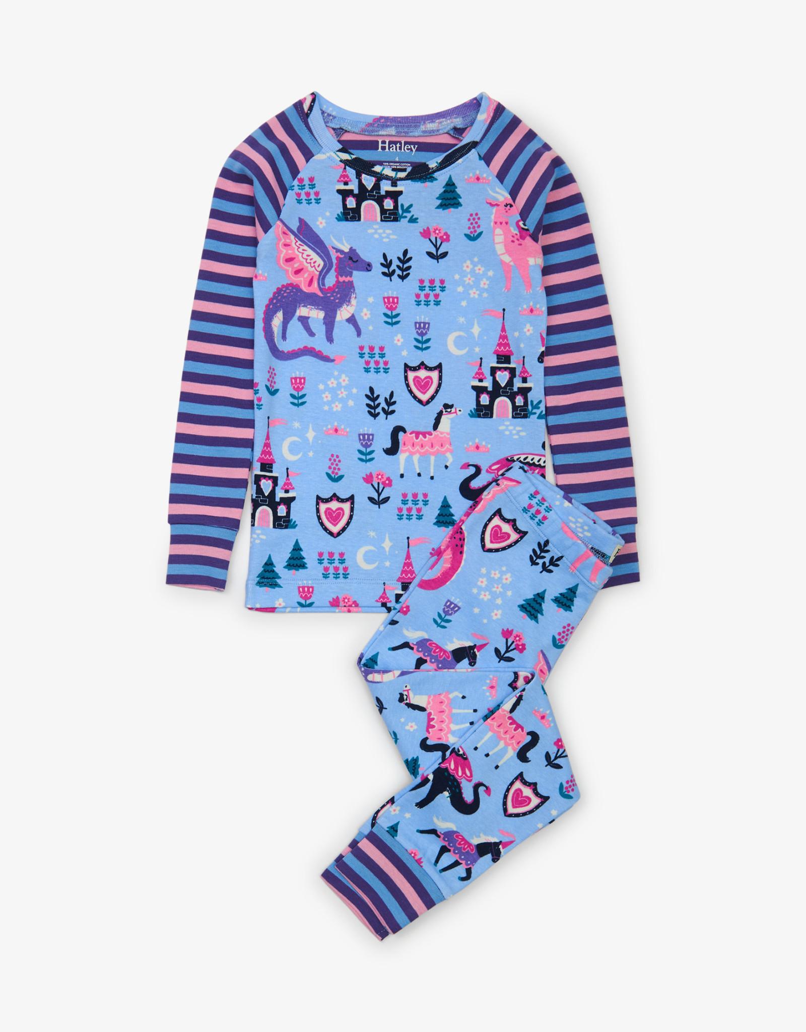 Hatley Enchanted Forest Organic Cotton Raglan Pajama Set