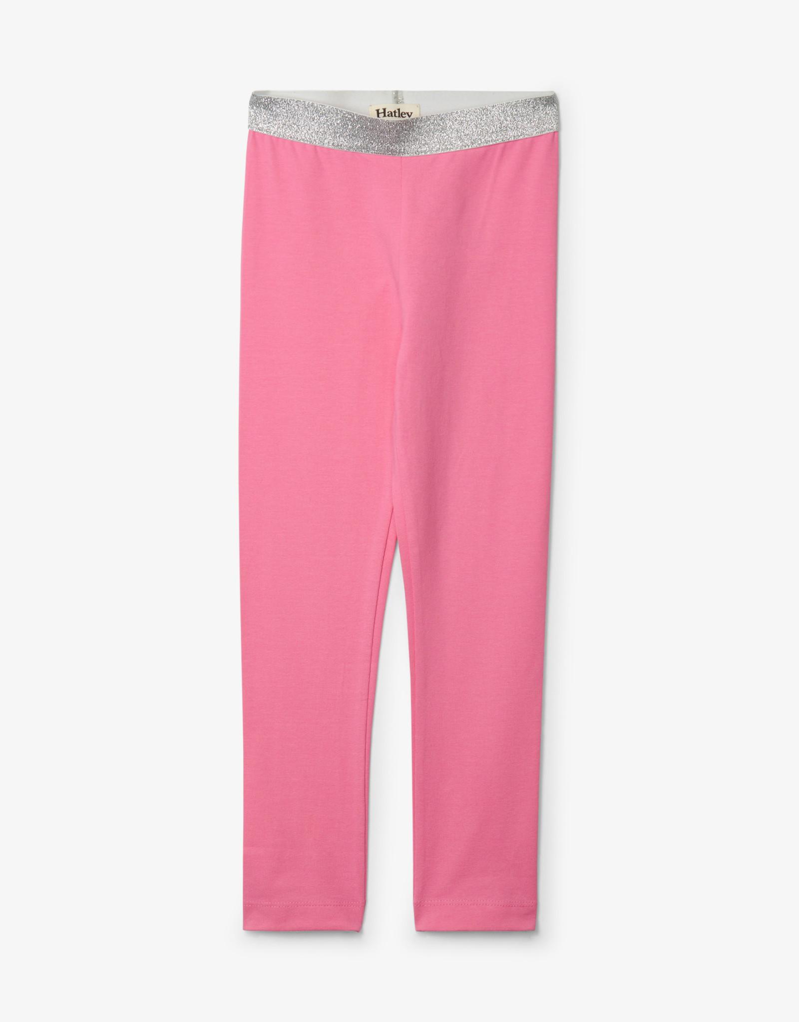 Hatley Pink Embellished Waist Leggings