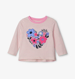 Hatley Cut-Out Floral Long Sleeve Baby Tee